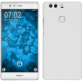 Hardcase for Huawei P9 Plus rubberized white