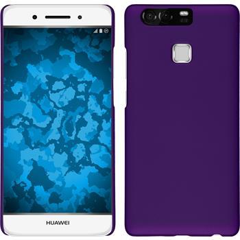 Hardcase for Huawei P9 rubberized purple