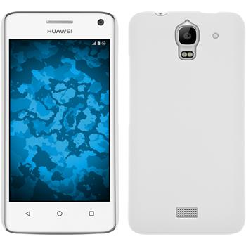 Hardcase for Huawei Y360 rubberized white