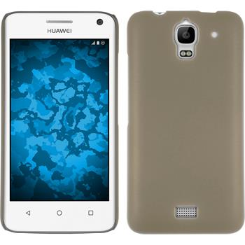 Hardcase for Huawei Y360 rubberized gold
