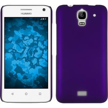 Hardcase for Huawei Y360 rubberized purple