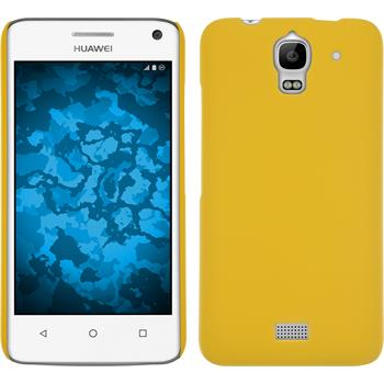 Hardcase for Huawei Y360 rubberized yellow