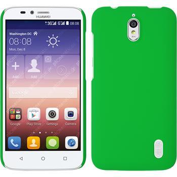 Hardcase for Huawei Y625 rubberized green