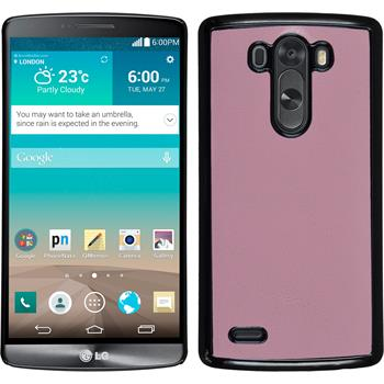 Hardcase for LG G3 leather optics pink