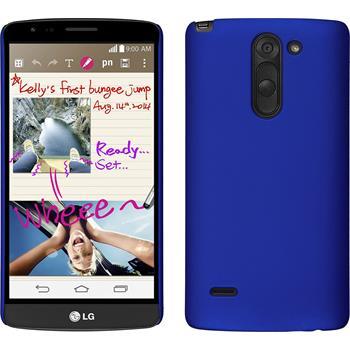 Hardcase for LG G3 Stylus rubberized blue