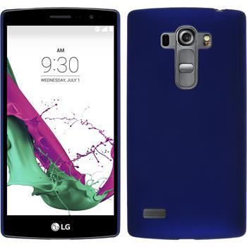 Hardcase for LG G4s rubberized blue