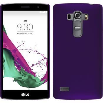Hardcase for LG G4s rubberized purple