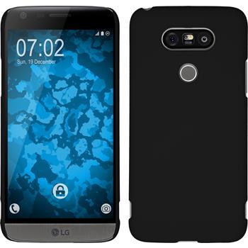 Hardcase for LG G5 rubberized black
