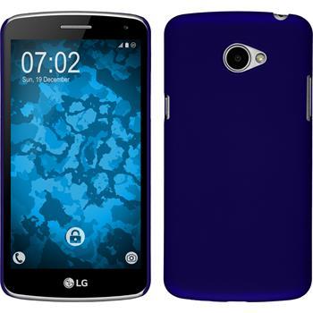 Hardcase for LG K5 rubberized blue