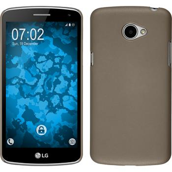Hardcase for LG K5 rubberized gold