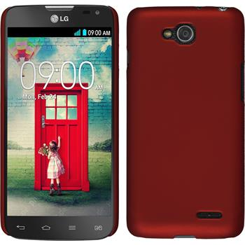Hardcase for LG L90 Dual rubberized red