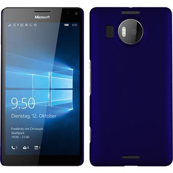 Hardcase for Microsoft Lumia 950 XL rubberized blue