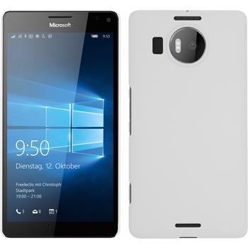 Hardcase for Microsoft Lumia 950 XL rubberized white