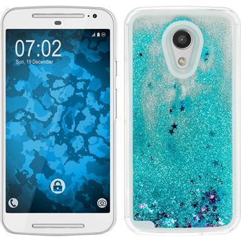 Hardcase for Motorola Moto G 2014 2. Generation Stardust blue