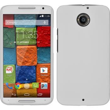 Hardcase for Motorola Moto X 2014 2. Generation rubberized white