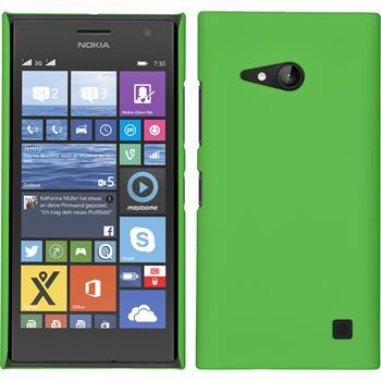 Hardcase for Nokia Lumia 730 rubberized green