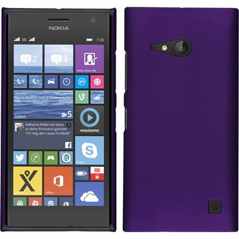 Hardcase for Nokia Lumia 730 rubberized purple
