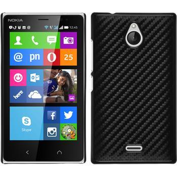 Hardcase for Nokia X2 carbon optics black