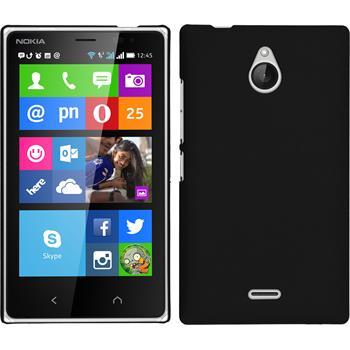 Hardcase for Nokia X2 rubberized black