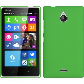 Hardcase for Nokia X2 rubberized green