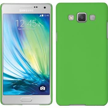 Hardcase for Samsung Galaxy A5 rubberized green