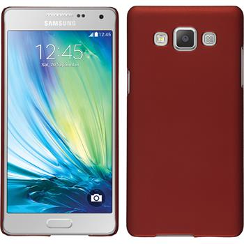 Hardcase for Samsung Galaxy A5 rubberized red