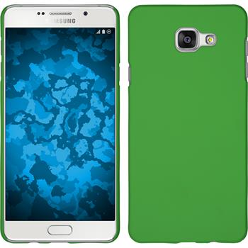 Hardcase for Samsung Galaxy A7 (2016) rubberized green