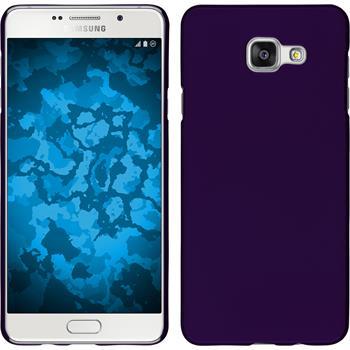 Hardcase for Samsung Galaxy A7 (2016) rubberized purple