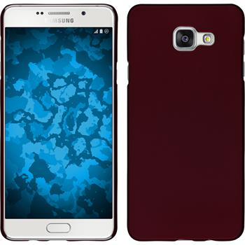 Hardcase for Samsung Galaxy A7 (2016) rubberized red
