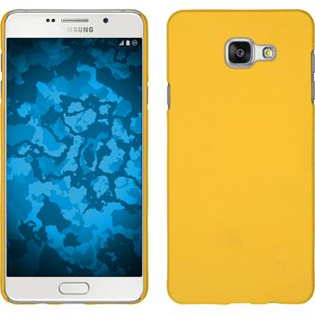 Hardcase for Samsung Galaxy A7 (2016) rubberized yellow