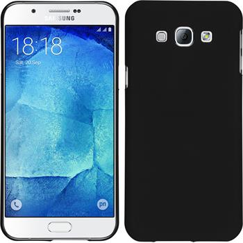Hardcase for Samsung Galaxy A8 rubberized black