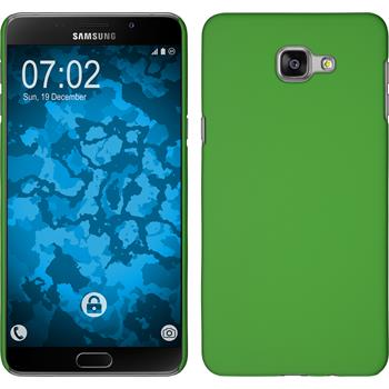 Hardcase for Samsung Galaxy A9 rubberized green