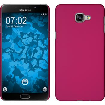 Hardcase for Samsung Galaxy A9 rubberized hot pink