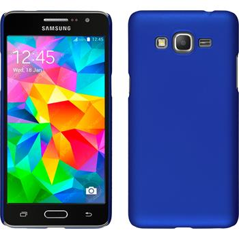 Hardcase for Samsung Galaxy Grand Prime rubberized blue