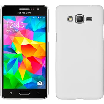 Hardcase for Samsung Galaxy Grand Prime rubberized white