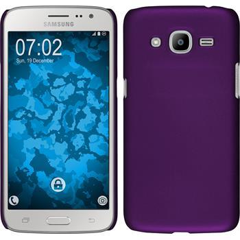 Hardcase for Samsung Galaxy J2 (2016) rubberized purple