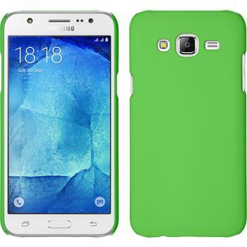 Hardcase for Samsung Galaxy J5 (J500) rubberized green