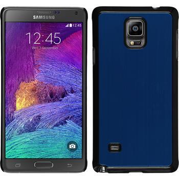 Hardcase for Samsung Galaxy Note 4 metallic blue