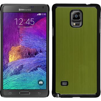 Hardcase for Samsung Galaxy Note 4 metallic green