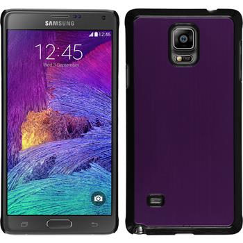Hardcase for Samsung Galaxy Note 4 metallic purple