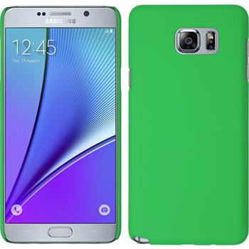 Hardcase for Samsung Galaxy Note 5 rubberized green