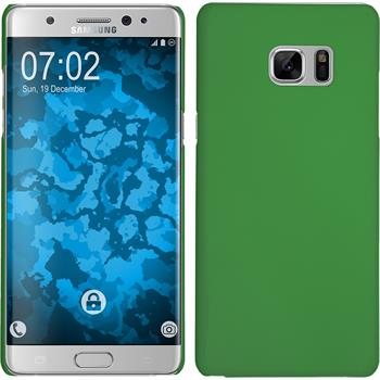Hardcase for Samsung Galaxy Note 7 rubberized green