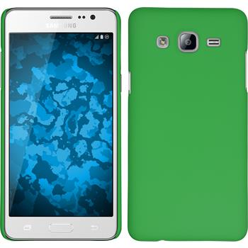 Hardcase for Samsung Galaxy On5 rubberized green