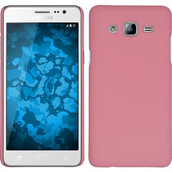 Hardcase for Samsung Galaxy On5 rubberized pink
