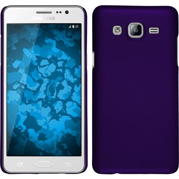 Hardcase for Samsung Galaxy On5 rubberized purple