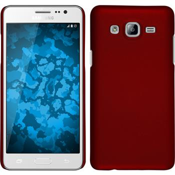 Hardcase for Samsung Galaxy On5 rubberized red