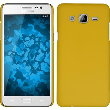 Hardcase for Samsung Galaxy On5 rubberized yellow