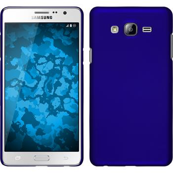 Hardcase for Samsung Galaxy On7 rubberized blue