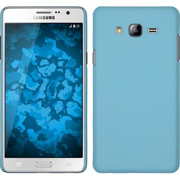 Hardcase for Samsung Galaxy On7 rubberized light blue