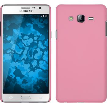 Hardcase for Samsung Galaxy On7 rubberized pink